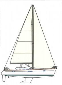 Hawaii Yachts Noelani Sail Plan