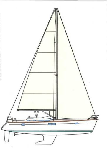 Hawaii Yachts Noelani Sail Plan