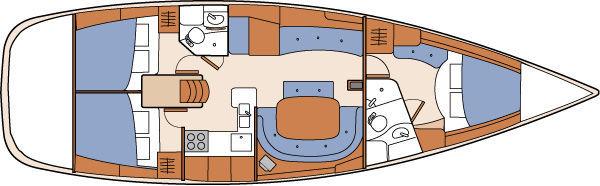 Sailing Vessel Elara Custom Layout
