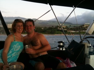 """The Guptails Aboard Noelani Offshore Four Season Wailea, Maui"""
